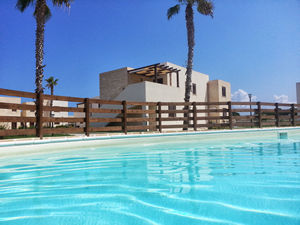 Pool of the Residence in Favignana
